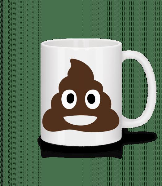 Shit Emoji - Mug - White - Vorn
