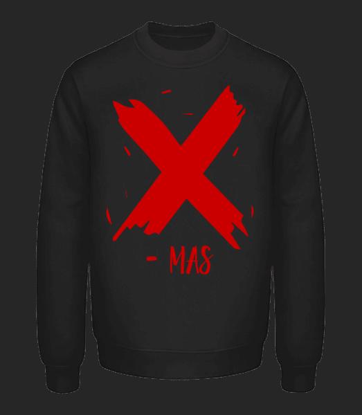 X - MAS - Unisex Sweatshirt - Black - Vorn