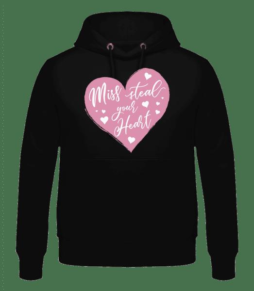 Miss Steal Your Heart - Men's Hoodie - Black - Vorn