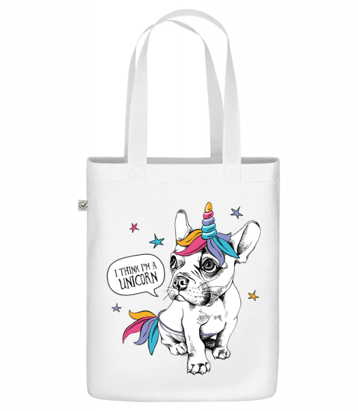 "I Am A Unicorn - Organic ""Earth Positive"" tote bag - White - Vorn"