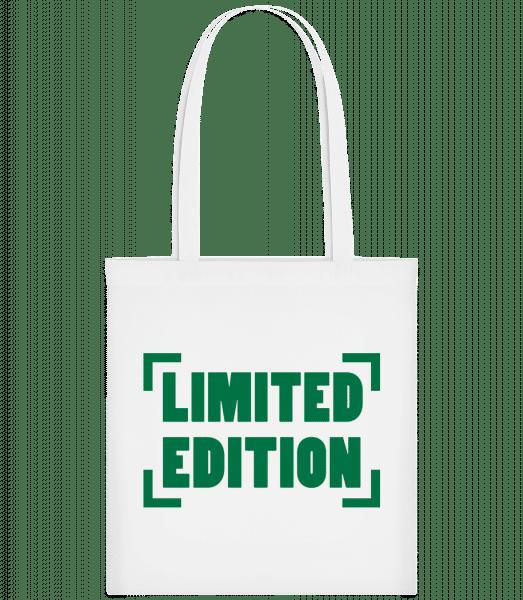 Limited Edition - Carrier Bag - White - Vorn