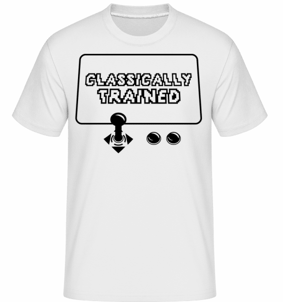 Classically Trained Gamer -  Shirtinator Men's T-Shirt - White - Vorn