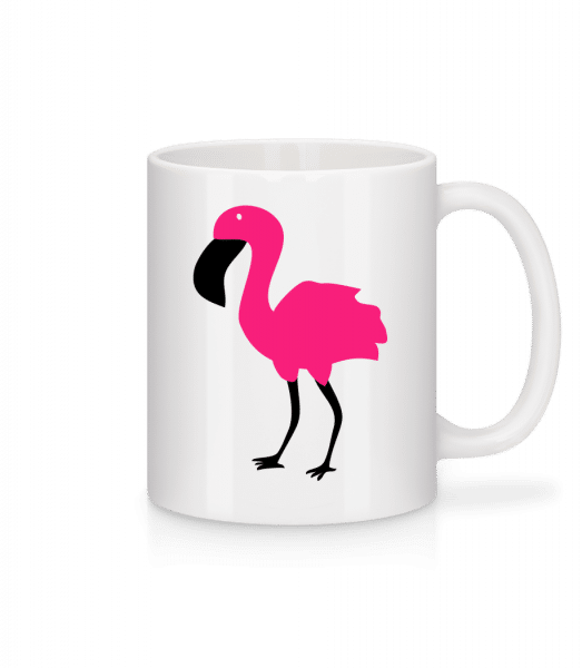 Flamingo Comic Kids - Tasse - Weiß - Vorn
