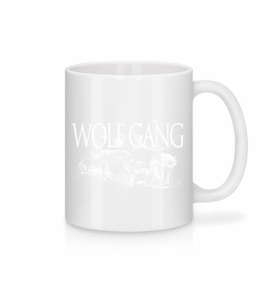 Wolf Gang - Mug - White - Vorn