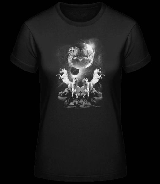 Nuit De La Licorne Mystique - Basic T-Shirt - Black - Vorn