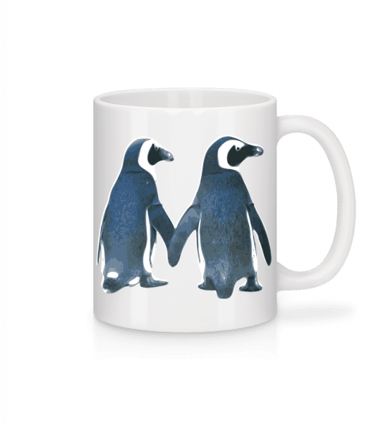 Penguin Couple - Mug - White - Vorn