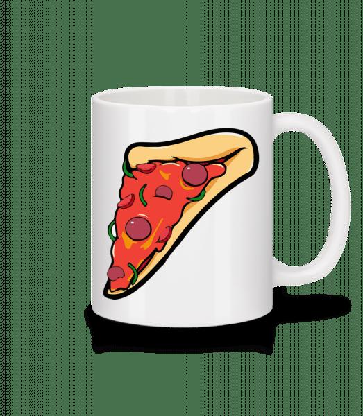 Pizza Part - Mug - White - Vorn