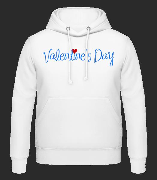 Valentine's Day - Men's Hoodie - White - Vorn