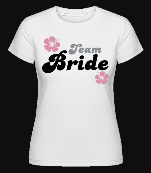 Team Bride -  Shirtinator Women's T-Shirt - White - Vorn