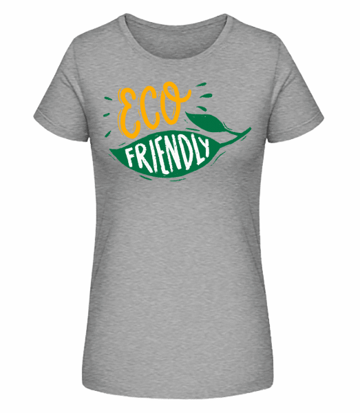 Eco Friendly - Women's Premium Organic T-Shirt Stanley Stella - Heather grey - Front