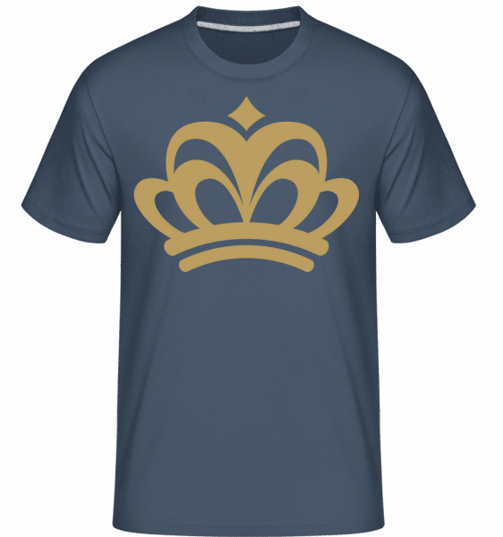 Crown Sign -  Shirtinator Men's T-Shirt - Denim - Vorn