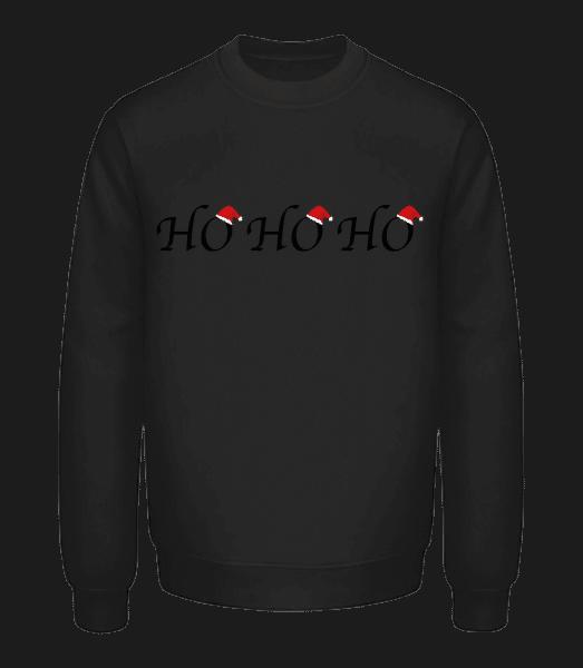 Ho Ho Ho - Unisex Sweatshirt - Black - Vorn