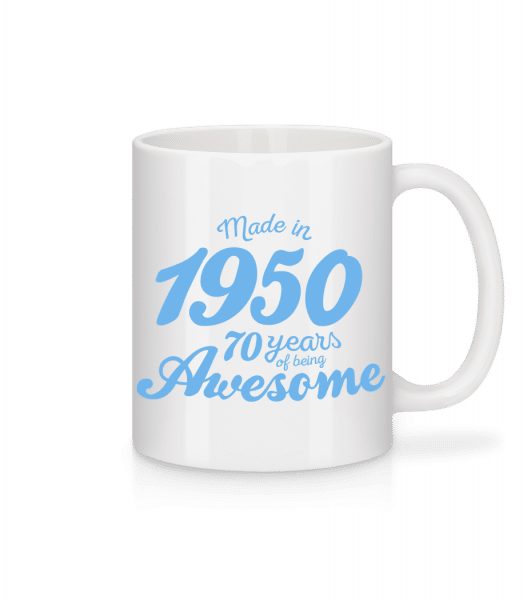 Made In 1950 70 Years - Mug - White - Vorn