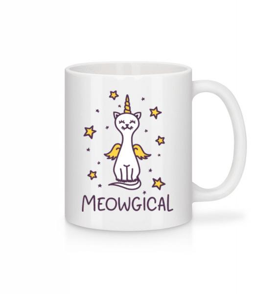 Meowgical - Mug - White - Front
