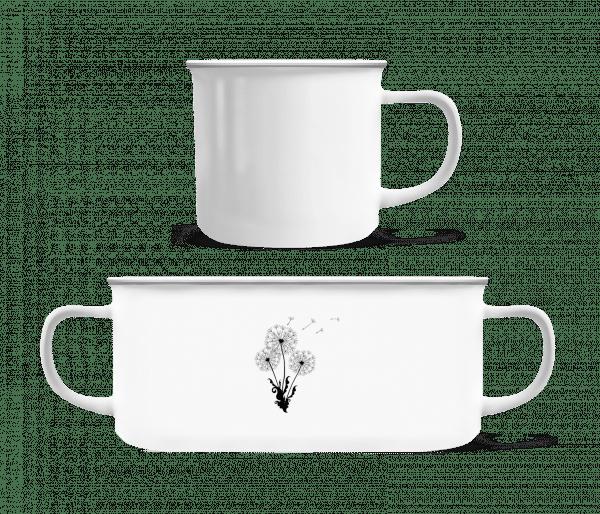 Dandelion Comic - Enamel-cup - White - Vorn