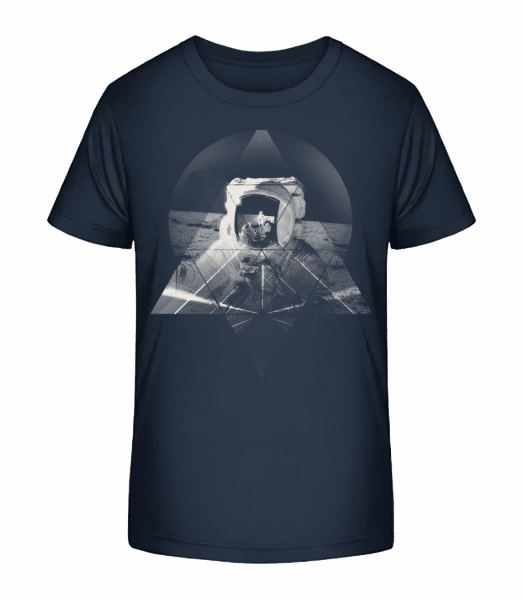 Astronaut - Kid's Premium Bio T-Shirt - Navy - Vorn