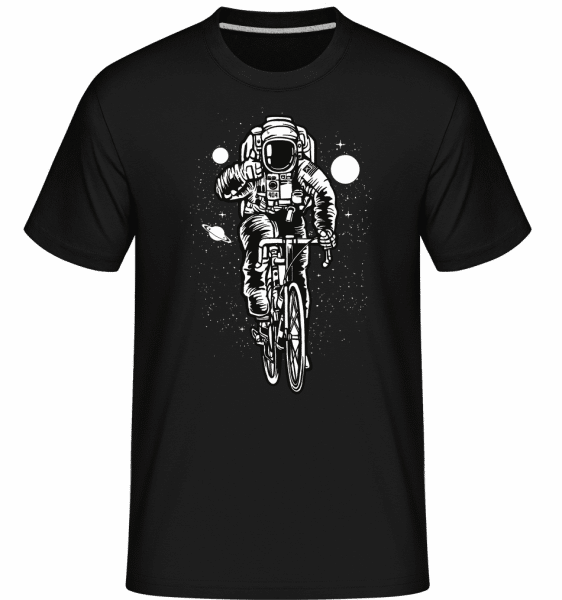 Astronaut Bicycle -  Shirtinator Men's T-Shirt - Black - Vorn