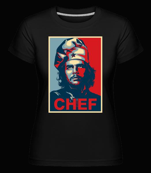Chef - Shirtinator Frauen T-Shirt - Schwarz - Vorn