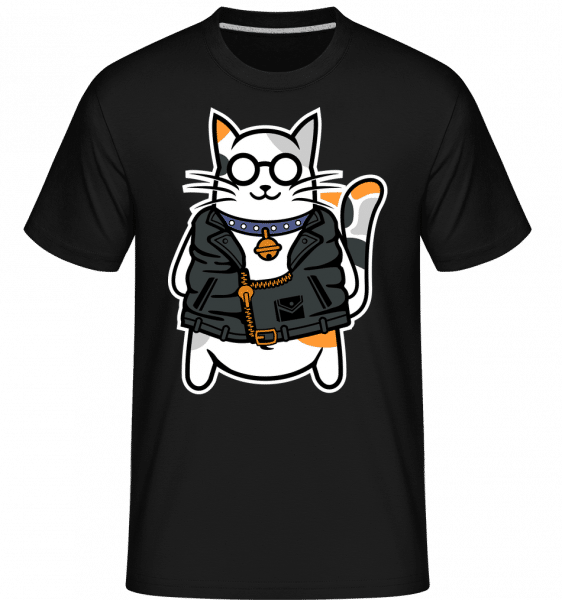 Cool Cat -  Shirtinator Men's T-Shirt - Black - Vorn