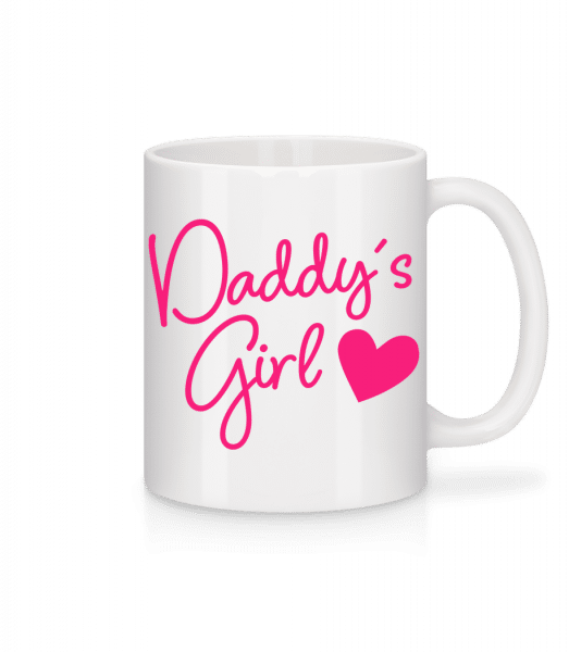 Daddy's Girl - Mug - White - Vorn