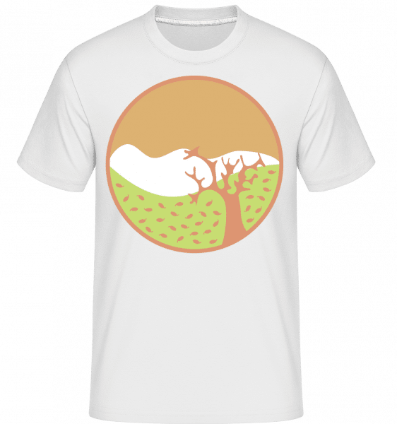 Autumn Landscape -  Shirtinator Men's T-Shirt - White - Front