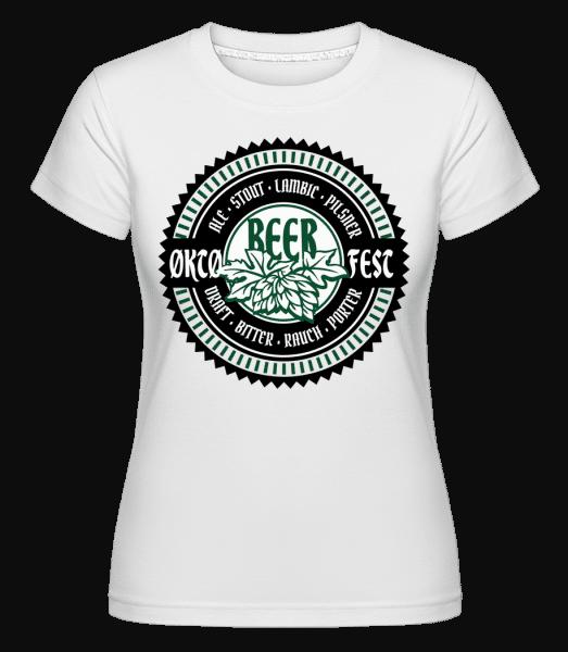 Oktoberfest Beer - Shirtinator Frauen T-Shirt - Weiß - Vorn