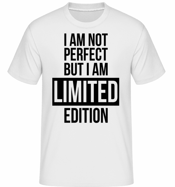 I'm Limited Edition -  Shirtinator Men's T-Shirt - White - Vorn