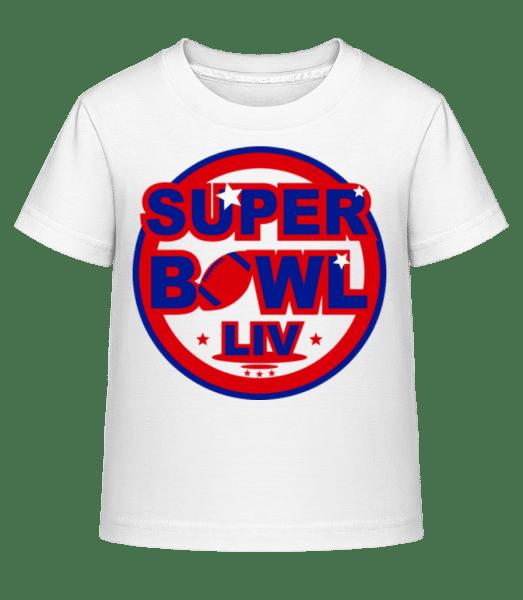 Super Bowl LIV - Kid's Shirtinator T-Shirt - White - Vorn