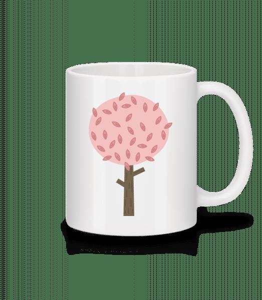 Autumn Tree - Mug - White - Vorn