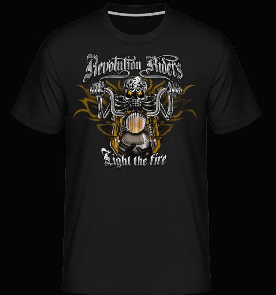 Revolution Riders -  Shirtinator Men's T-Shirt - Black - Vorn