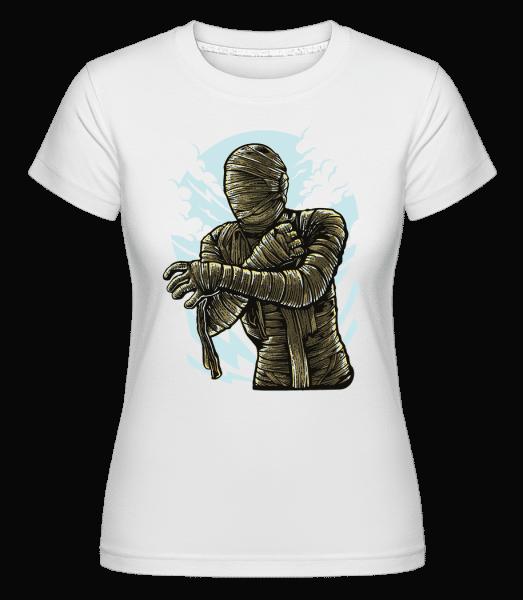 The Mummy -  Shirtinator Women's T-Shirt - White - Vorn