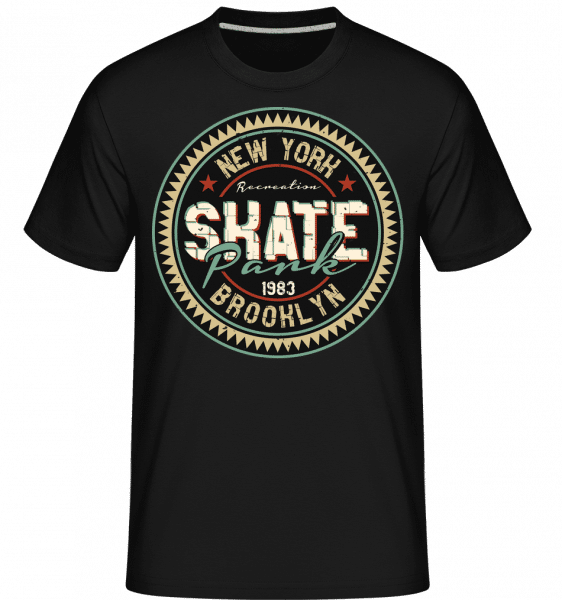 New York Skate -  Shirtinator Men's T-Shirt - Black - Vorn