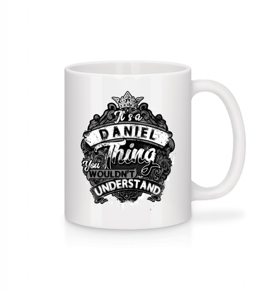It's A Daniel Thing - Mug - White - Vorn