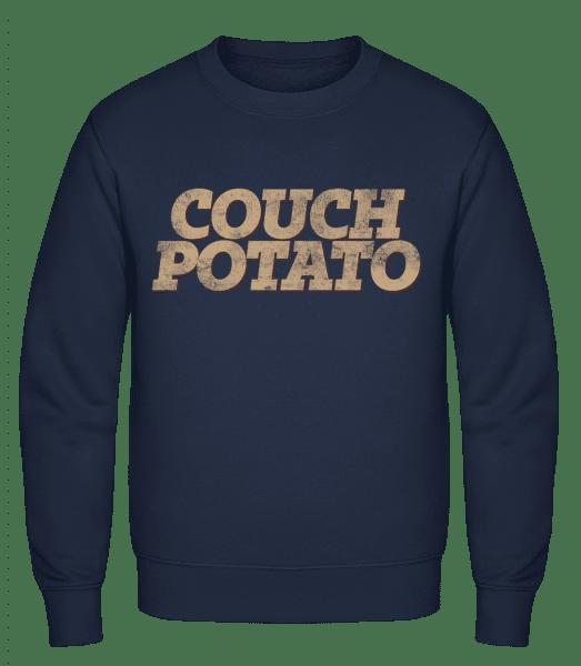 Couch Potato - Men's Sweatshirt - Navy - Vorn