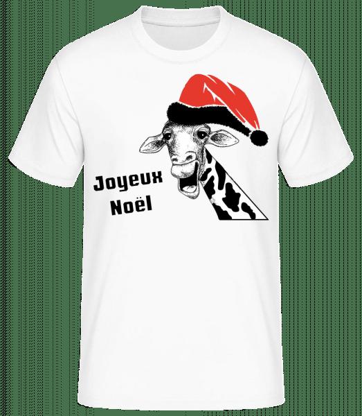 Joyeux Noël - T-shirt standard Homme - Blanc - Vorn