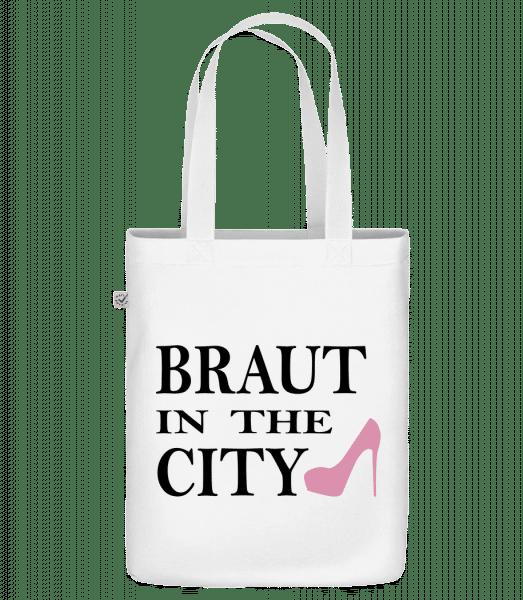 Braut In The City - Bio Tasche - Weiß - Vorn