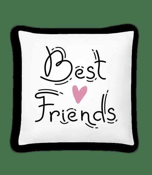 Best Friends - Cushion - White - Vorn