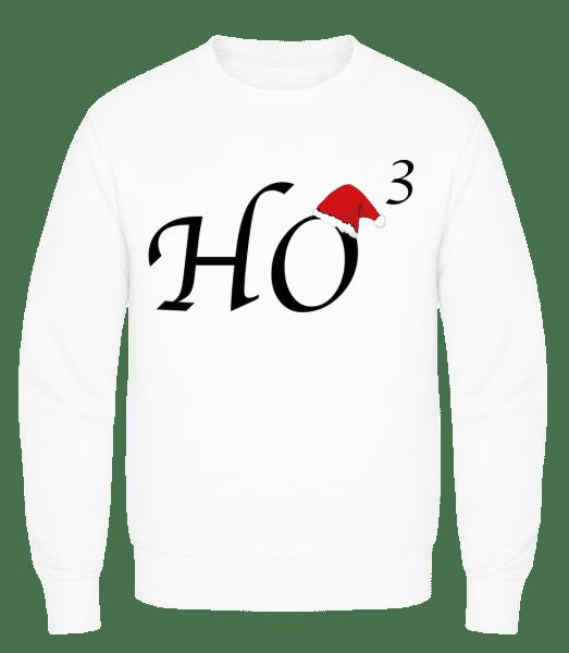 Ho * 3 - Men's Sweatshirt AWDis - White - Vorn