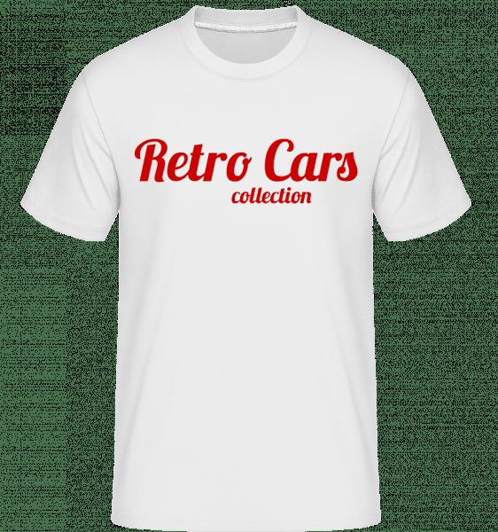 Retro Cars Collection - Shirtinator Männer T-Shirt - Weiß - Vorn