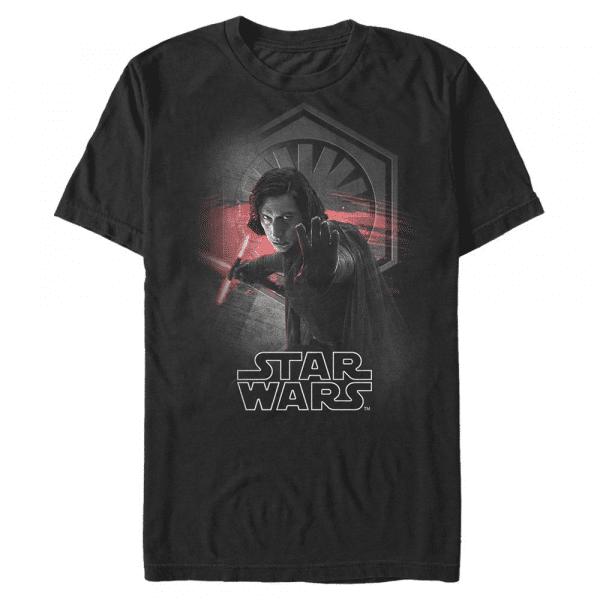 Deadly Son Kylo Ren - Star Wars Last Jedi - Men's T-Shirt - Black - Front