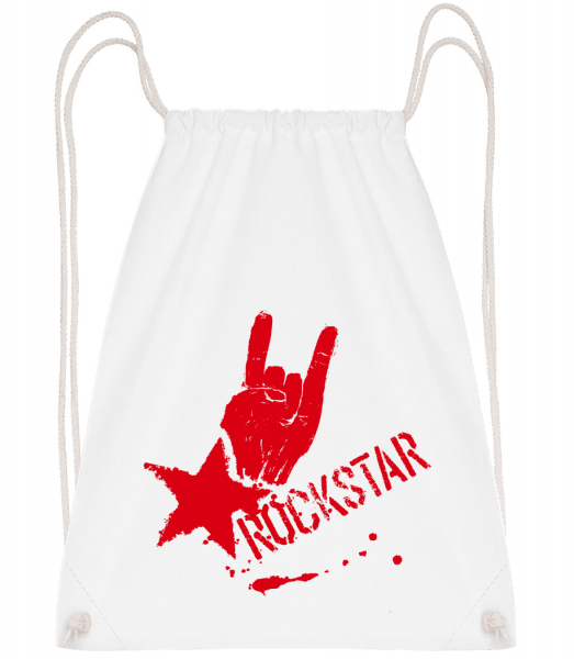Rockstar Symbol - Gym bag - White - Vorn