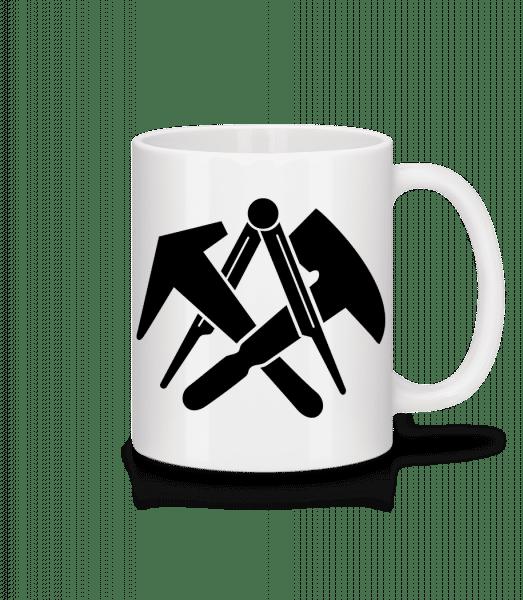 DIY Symbols - Tasse - Weiß - Vorn