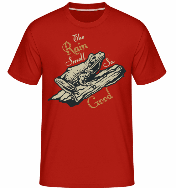 Rain Smell So Good -  Shirtinator Men's T-Shirt - Red - Vorn