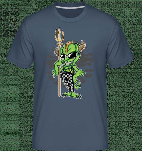 Goblin -  Shirtinator Men's T-Shirt - Denim - Vorn