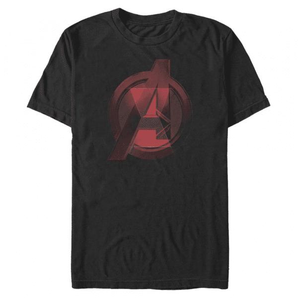 Widow Avenger Logo - Marvel Black Widow - Men's T-Shirt - Black - Front