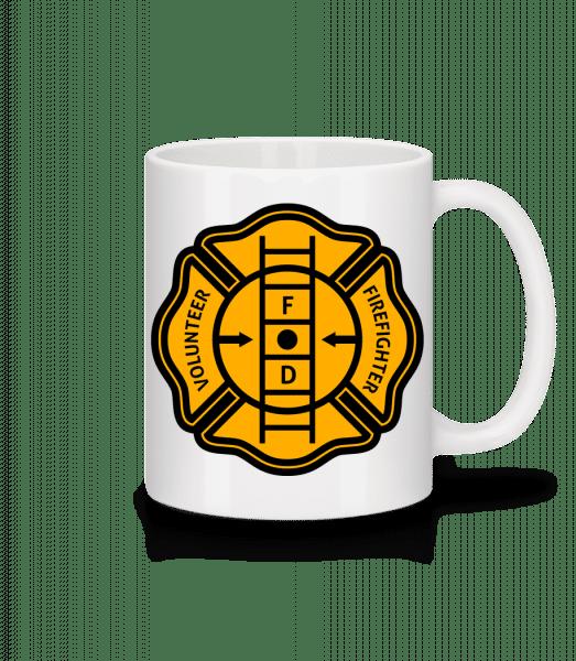 Volunteer Firefighter - Mug - White - Vorn