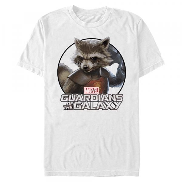 Dangerous Animal Rocket - Marvel Guardians of the Galaxy - Men's T-Shirt - White - Front