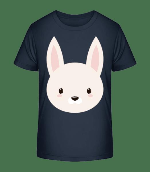 Bunny Comic - Kid's Premium Bio T-Shirt - Navy - Vorn