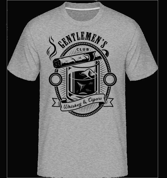 Gentlemen's Club -  Shirtinator Men's T-Shirt - Heather grey - Vorn