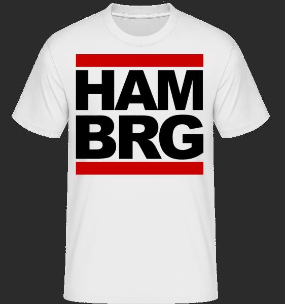 Hamburg Germany -  Shirtinator Men's T-Shirt - White - Vorn